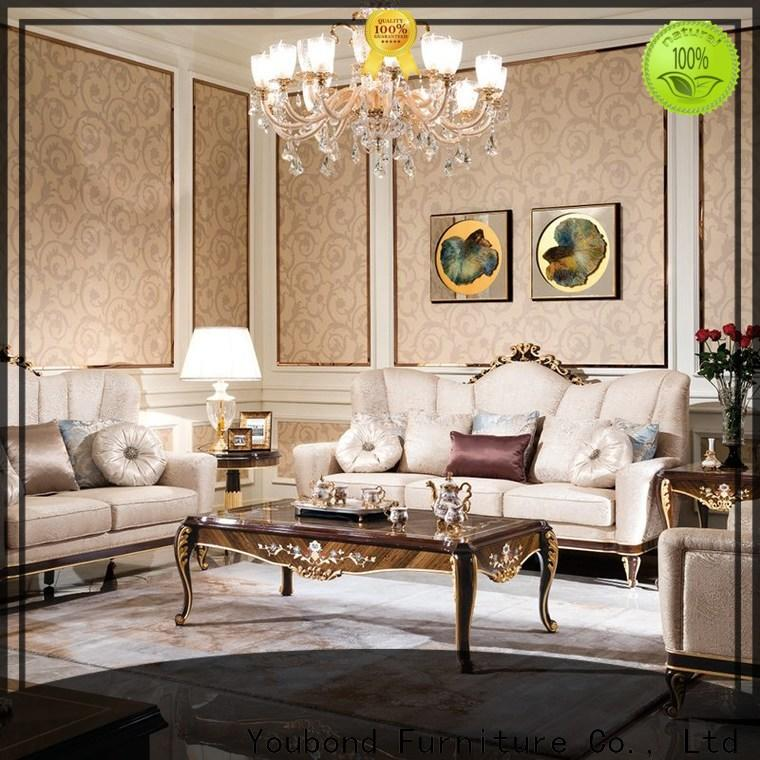 classical traditional living room design ideas with flower carving for hotel