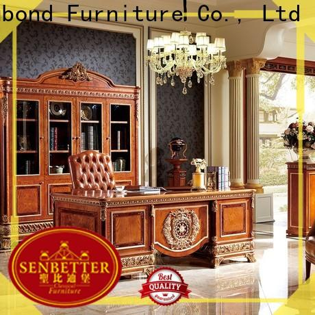 Senbetter top wood office furniture with office writing desk for villa