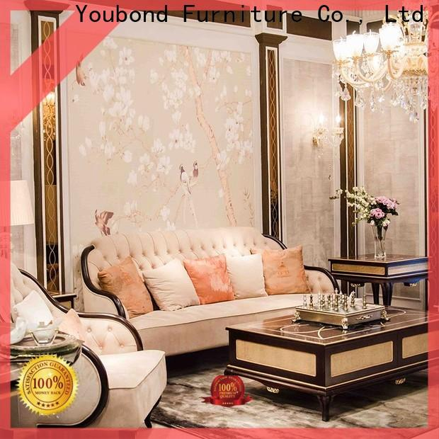 Wholesale leather furniture sets supply for home