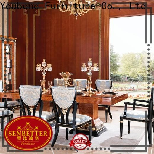 Senbetter High-quality new classic dining room furniture company for hotel