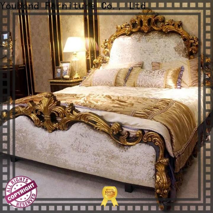 Latest wood bedroom sets supply for sale
