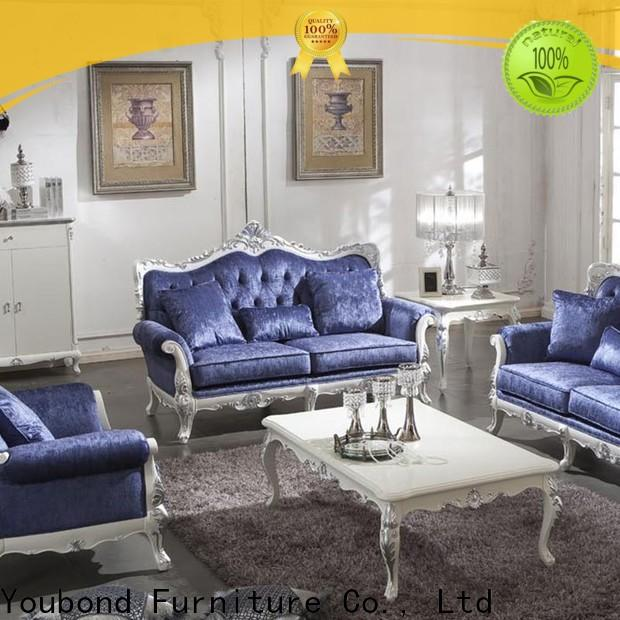 Best living room furniture classic supply for villa