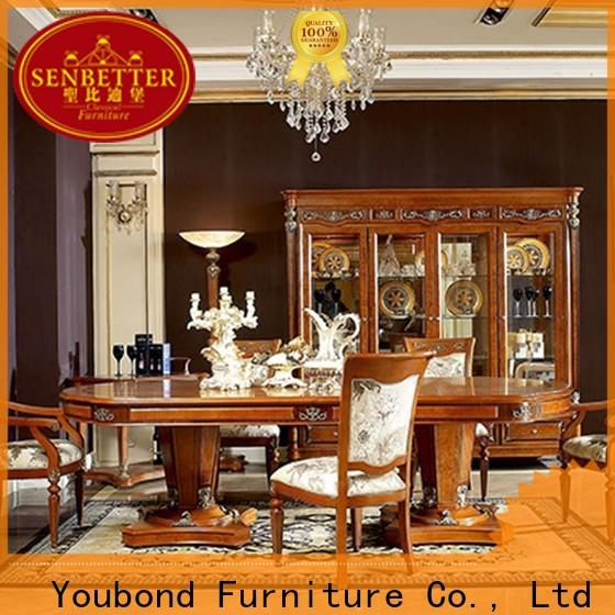 Senbetter gold dining room set for business for home