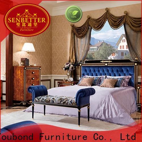 Senbetter Wholesale royal bedroom furniture company for royal home and villa