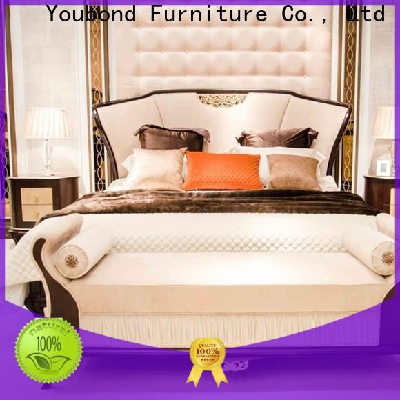 High-quality traditional king bedroom sets for business for royal home and villa