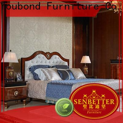 Senbetter classic bedroom furniture supply for royal home and villa