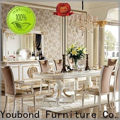 Latest italian style dining table and chairs company for home