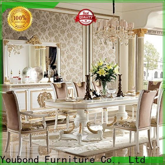 Latest italian dining set factory for hotel