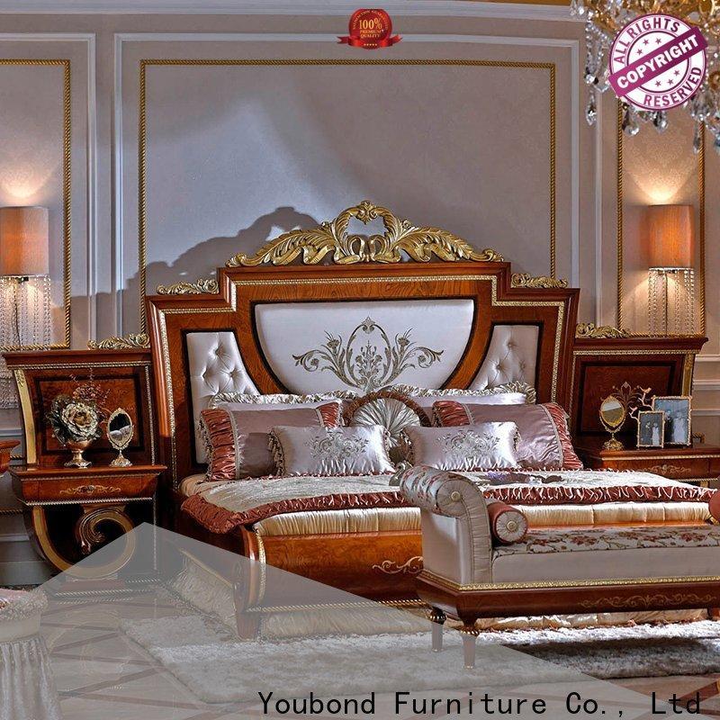 Senbetter High-quality dark wood bedroom furniture company for royal home and villa