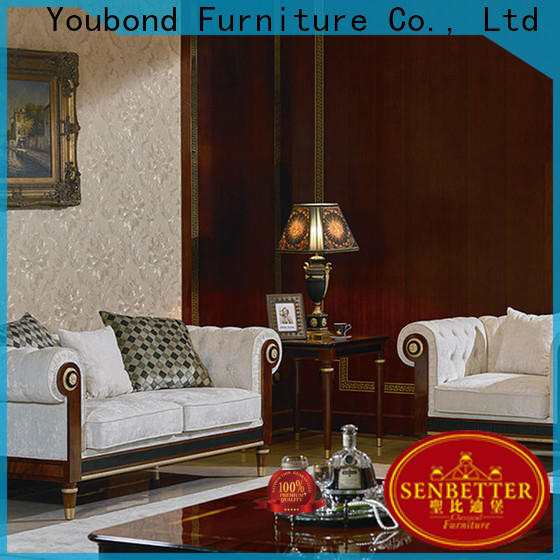 Senbetter Custom furniture living supply for hotel