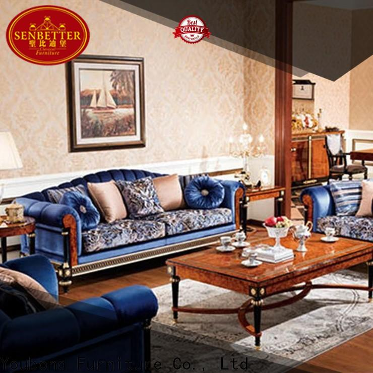 Wholesale victorian living room furniture factory for home