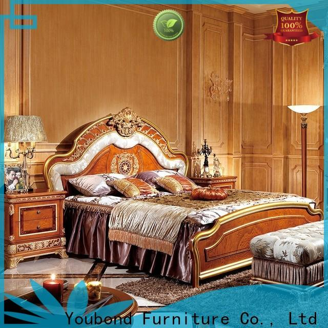 Senbetter traditional bedroom suites supply for royal home and villa