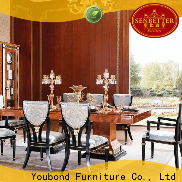 Senbetter Best classic timber furniture dining tables company for hotel