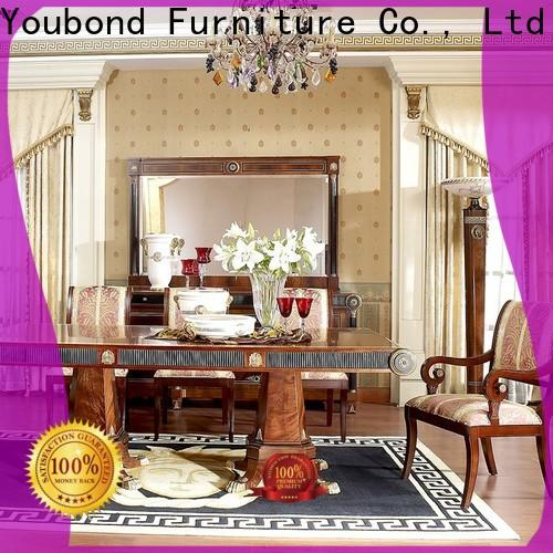 High-quality distressed dining room furniture supply for villa