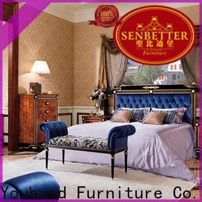 Senbetter country style bedroom furniture supply for royal home and villa