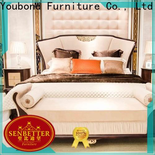 Wholesale cherry wood bedroom furniture for business for royal home and villa