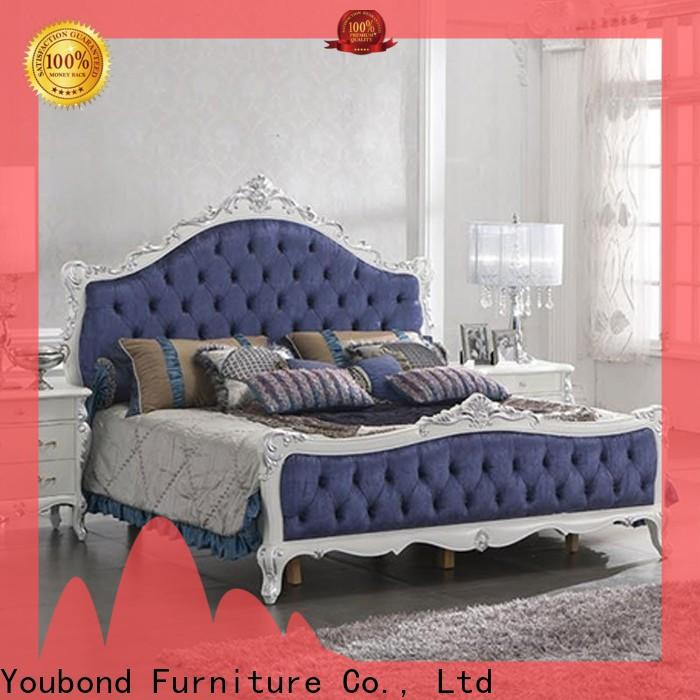 Wholesale pine bedroom furniture supply for royal home and villa