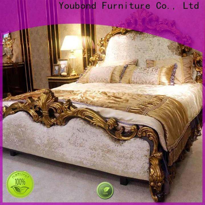 Senbetter Best traditional bed design factory for royal home and villa