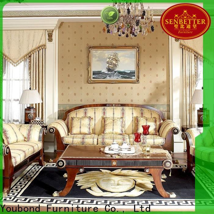 Senbetter discount living room furniture manufacturers for villa