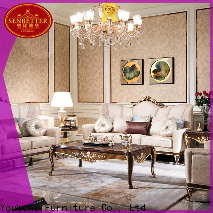 Senbetter 2 piece furniture set manufacturers for living room