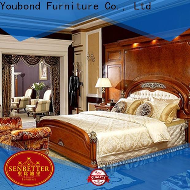 Senbetter mission bedroom furniture supply for royal home and villa
