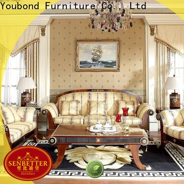Senbetter Wholesale brown living room set for business for villa