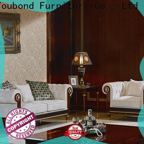 Senbetter brown living room set factory for villa