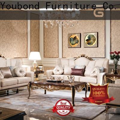 Senbetter Wholesale 3 piece leather living room set company for villa
