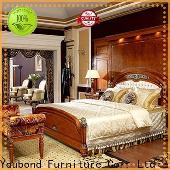 New solid oak bedroom furniture sets suppliers for sale
