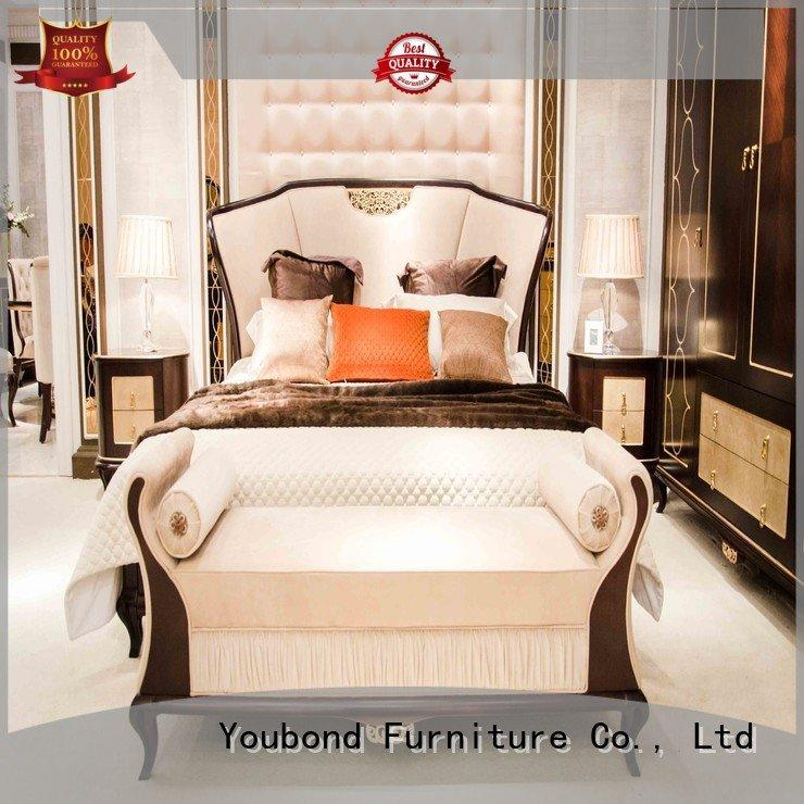veneer oak bedroom furniture design solid