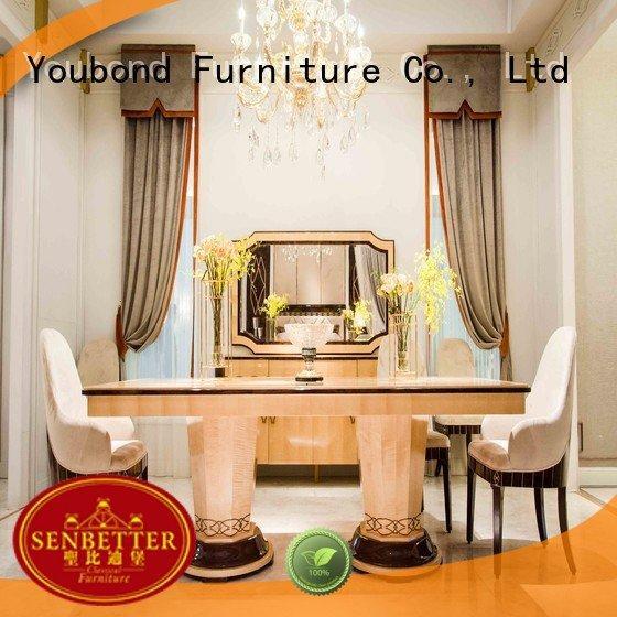 solid villa dinning spanish Senbetter classic dining room furniture