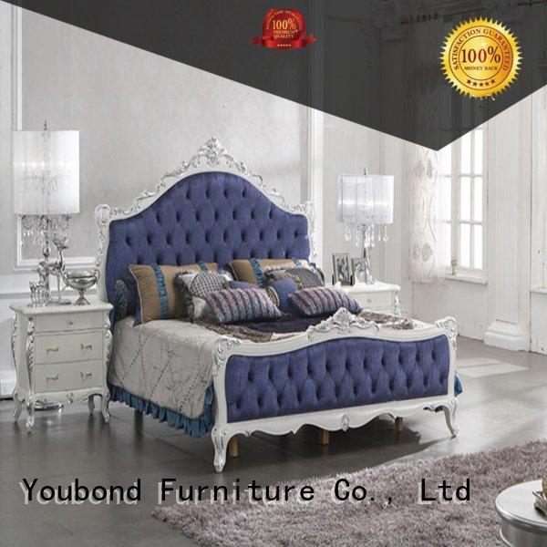 Senbetter beech solid wood bedroom furniture simple