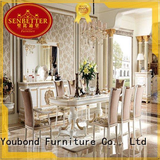 OEM classic dining room furniture spanish european dinette sets