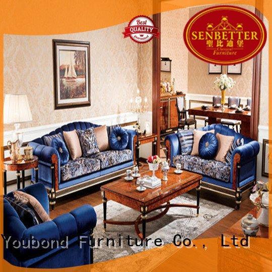 OEM white living room furniture design italian white classic living room furniture