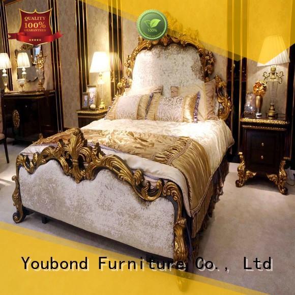 Quality oak bedroom furniture Senbetter Brand gross solid wood bedroom furniture