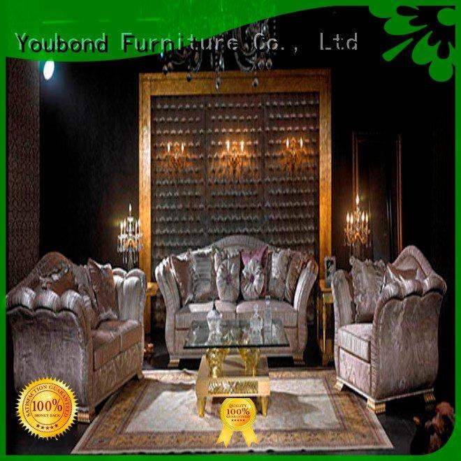white living room furniture baroque vintage classic living room furniture Senbetter Brand