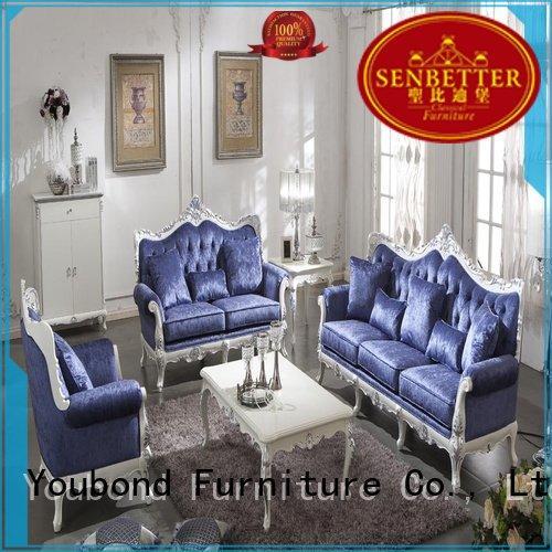 Senbetter Brand flower dubai living white living room furniture