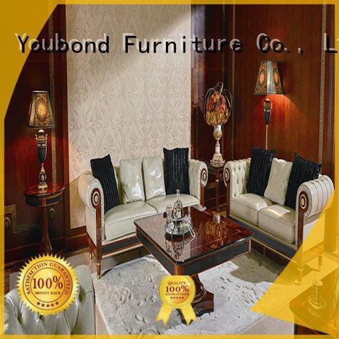 Senbetter Brand delicate flower white living room furniture