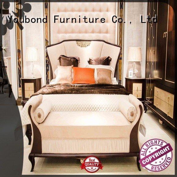 Quality oak bedroom furniture Senbetter Brand bedroom solid wood bedroom furniture