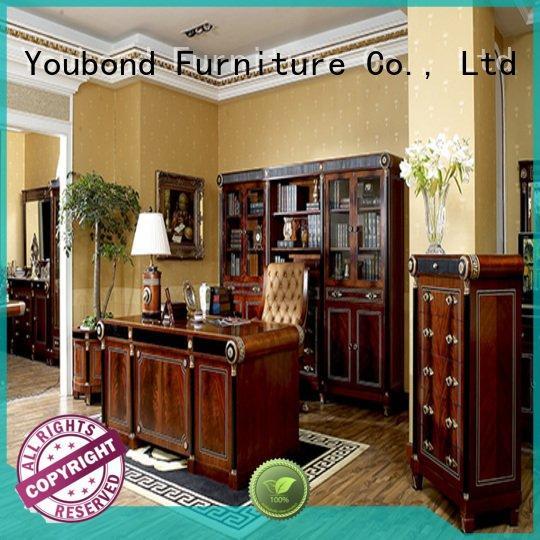 Senbetter Brand wood gold antique classic office furniture