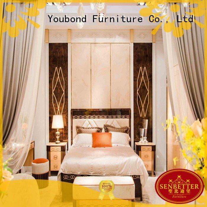 Hot oak bedroom furniture wood classic furniture0062 Senbetter Brand