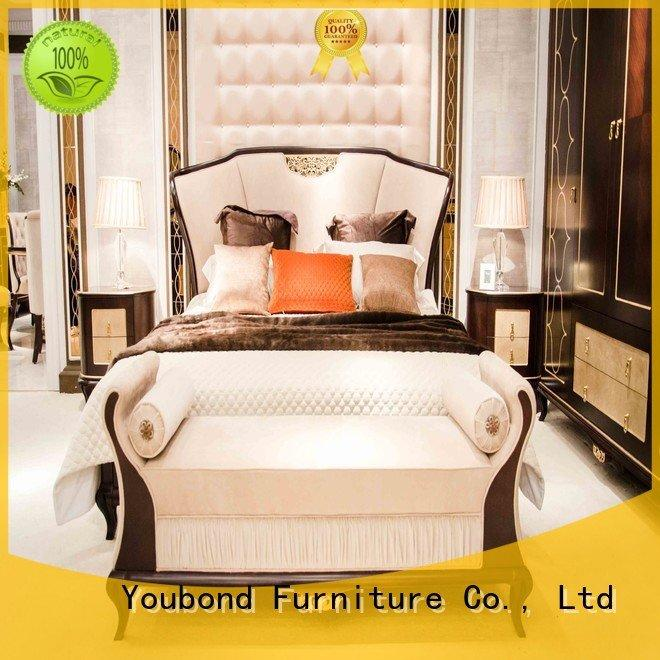 Hot oak bedroom furniture design furniture0062 mahogany Senbetter Brand