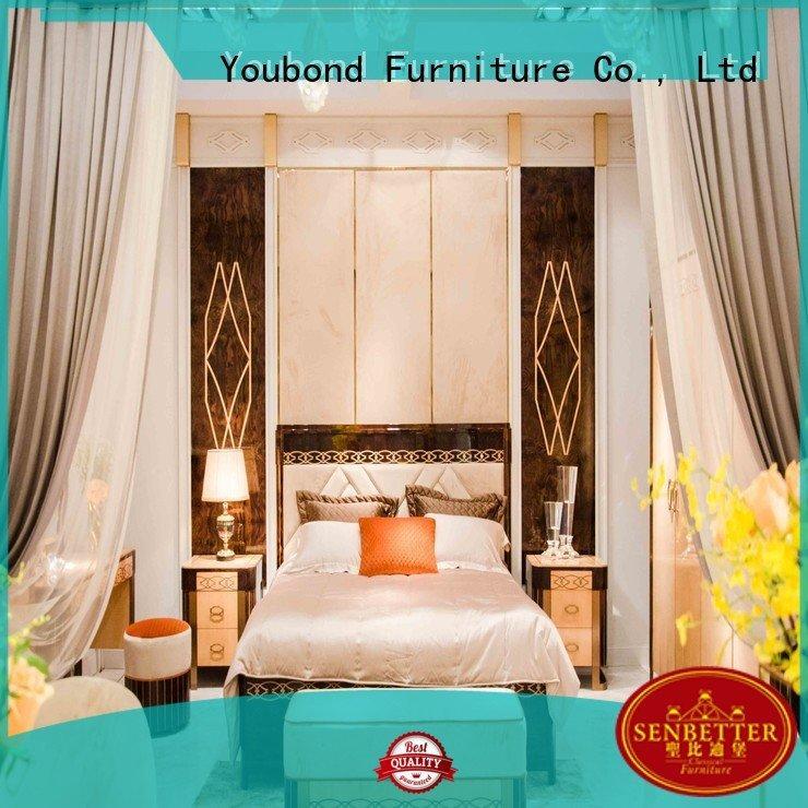 Senbetter Brand veneer classic beech oak bedroom furniture