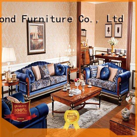 Custom room classic living room furniture 0066 white living room furniture