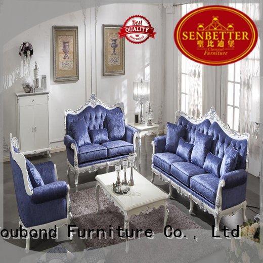 white living room furniture style vintage Senbetter Brand