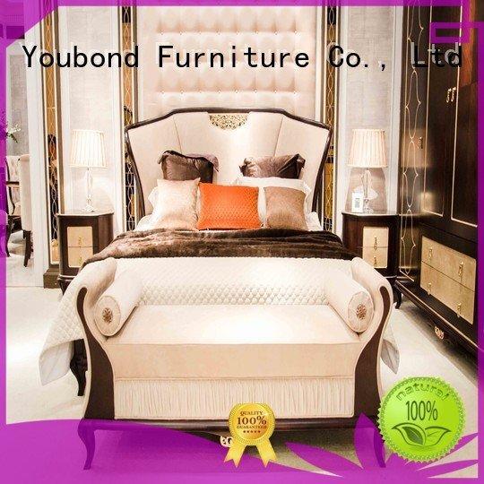 simple Senbetter solid wood bedroom furniture