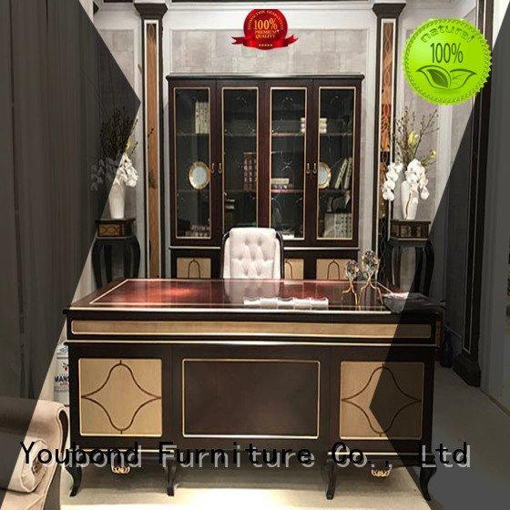 desk furniture carved classic office furniture 0068 Senbetter