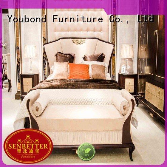 oak bedroom furniture wood solid wood bedroom furniture veneer Senbetter