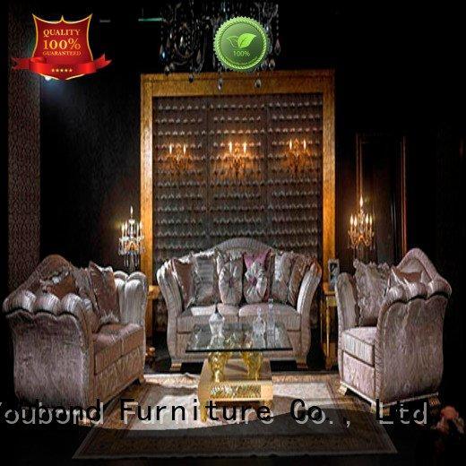 white living room furniture carving classic living room furniture Senbetter Brand