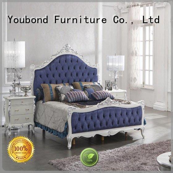 oak bedroom furniture simple solid wood bedroom furniture Senbetter Brand
